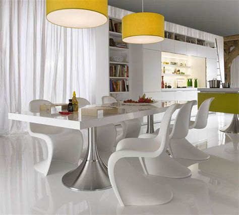 white dining room tables and chairs modern dining room sets as one of your best options