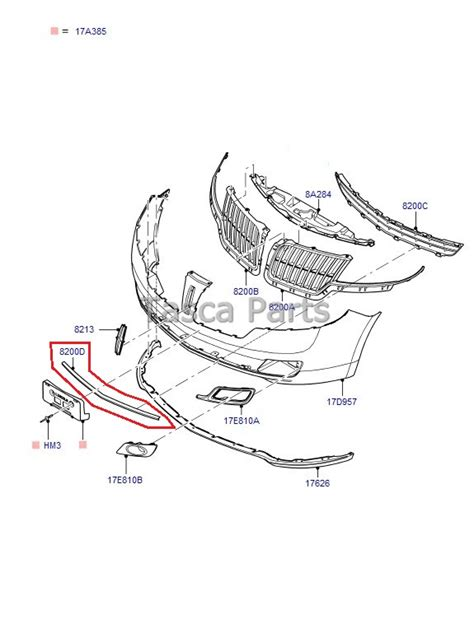 2010 lincoln mkz parts new oem front bumper lower grill molding 2010 2013 lincoln