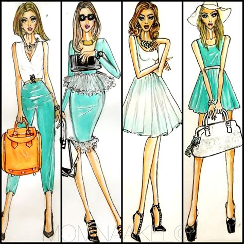 fashion design of clothes being a fashionista should be in your blood