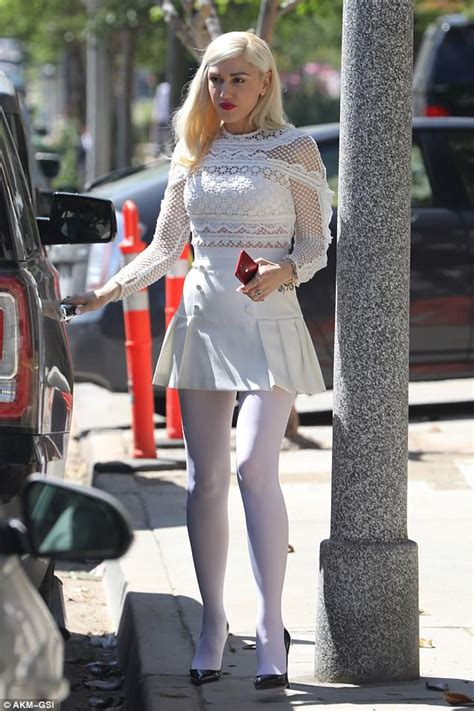 den skirts for 47 yr old gwen stefani takes her boys to church on easter sunday