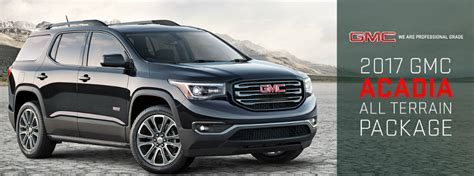 Acadia All Terrain 2017 by What Does The 2017 Gmc Acadia All Terrain Package Add