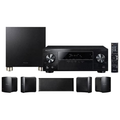 pioneer htp   channel  ultra avr home theatre