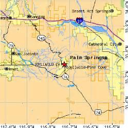 idyllwild california map idyllwild california ca population data races