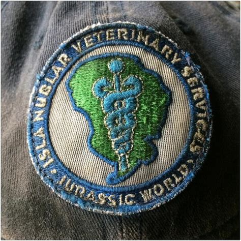 jurassic world veterinary services patch shared  twitter