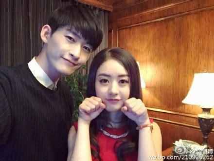 film drama zhang han update 15 05 15 zhao liying and zhang han in new movie