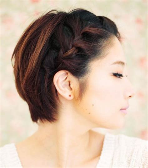 plait hairstyles for short hair 10 braids that look amazing on short hair byrdie