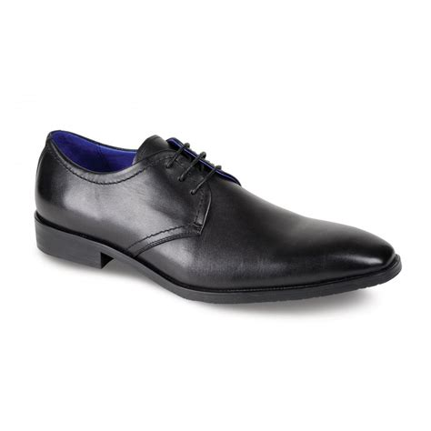 leather shoes nile black leather leather lace shoe