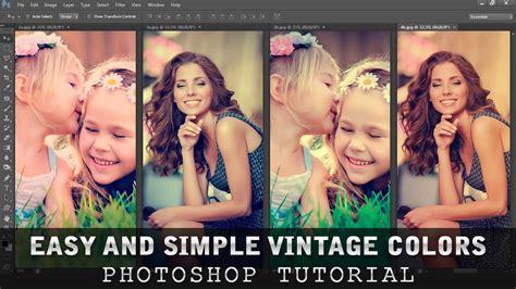 tutorial photoshop vintage color tutorial photoshop all about vintage colors funnydog tv