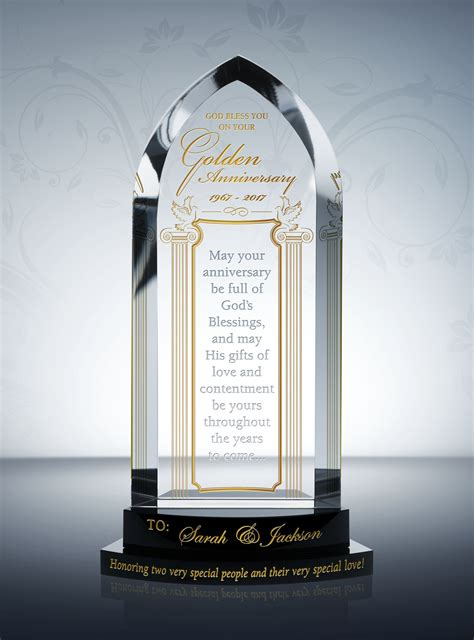 Gold Wedding Anniversary Gift Ideas by Golden 50th Wedding Anniversary Gifts Diy Awards