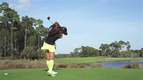 michelle wie swing analysis michelle wie swing in slow motion golf com