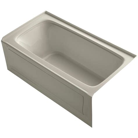 kohler porcelain enameled cast iron bathtubs