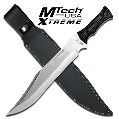 thick machete 18 quot tang 7mm thick blade raptor tactical survival