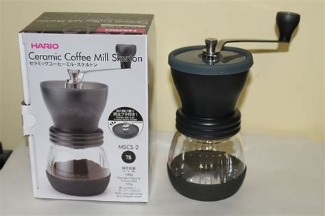 Hario Skerton Coffee Grinder coffey s coffee views from a better late than never