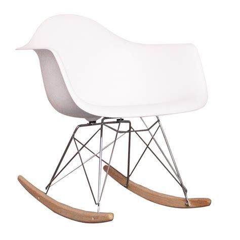 eames style rar rocking chair eames style dining rocking rar arm chair white