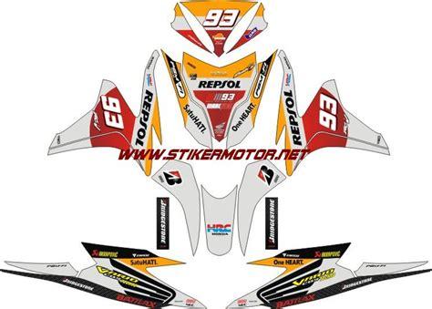 Striping Honda Beat Fi Batik Mega Mendung striping motor honda vario fi repsol stikermotor net stikermotor net