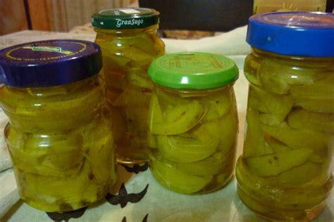 alimenti sott olio cachi immaturi sottolio cucina conserve