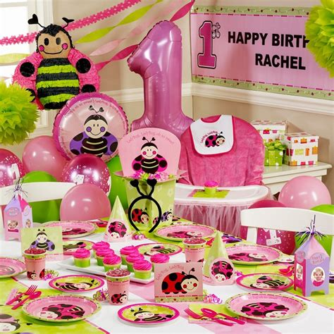 themes baby girl first birthday birthday sandy party decorations
