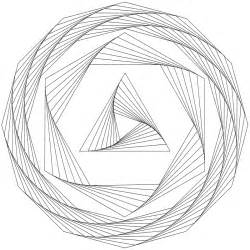 Line Drawing Templates don t eat the paste drawing geometric whirls with templates