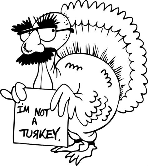 november themed coloring pages funny turkey thanksgiving coloring pages animal coloring