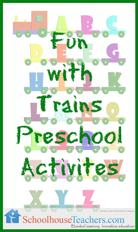 printable preschool train activities free homeschool printables schoolhouseteachers com