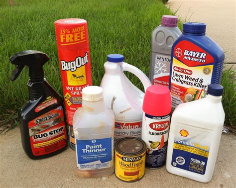 hazardous household products recycling safe disposal in macon county illinois