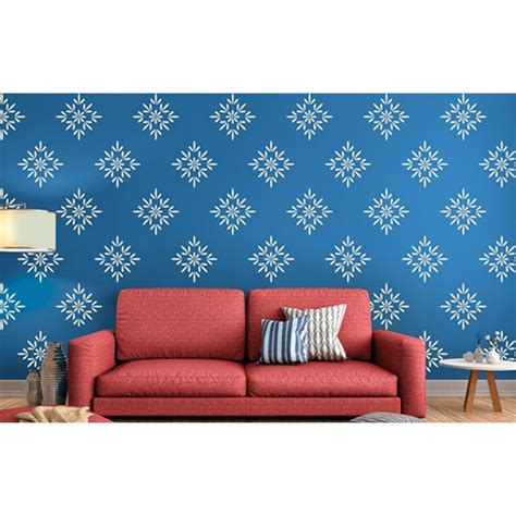 Where Can I Buy Wall Stickers buds and blossoms asian paints wall fashion stencil