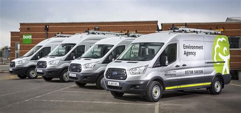 Ford Transit Awd by Environment Agency Transit Awd