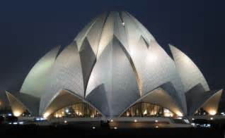 Who Built Lotus Temple Intersesting Flower Like Building Lotus Temple In New