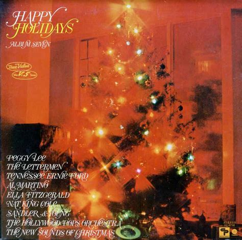 true  happy holidays volume  sl christmas vinyl record lp albums  cd  mp