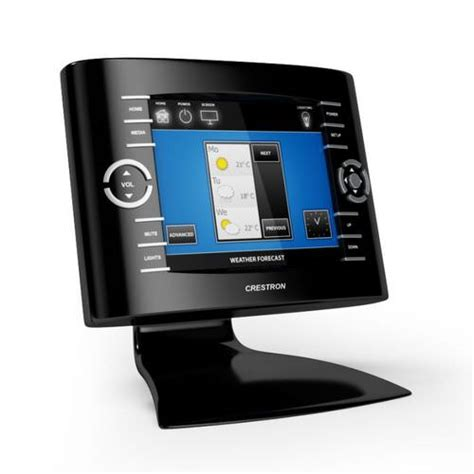 crestron home automation 3d model cgtrader