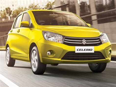 Maruti Suzuki Car Celerio Top 5 Diesel Hatchback Cars In India Between Inr 5 8 Lac