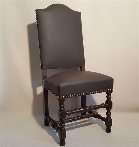 chaise louis xiii chaise louis xiii bobine dos recouvert les beaux si 232 ges