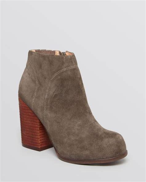 grey high heel booties jeffrey cbell booties hanger high heel in gray grey
