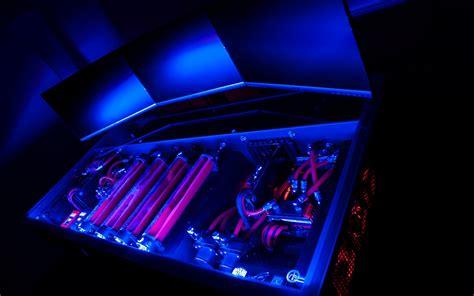 liquid cooled pc desk your pc builds best pc battlestations