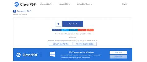 very compress pdf cleverpdf 20 in 1 free online pdf tools