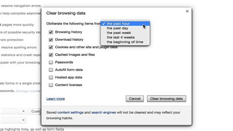 chrome how to clear cache how to clear cache and delete cookies on google chrome