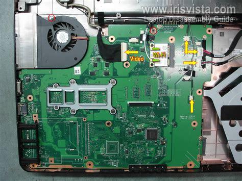 toshiba satellite l505 l505d l500 l500d disassembly