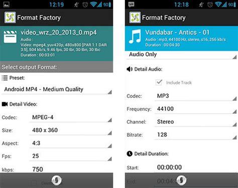 format factory jak zmniejszyc rozmiar jak konwertować muzykę i filmy na androidzie