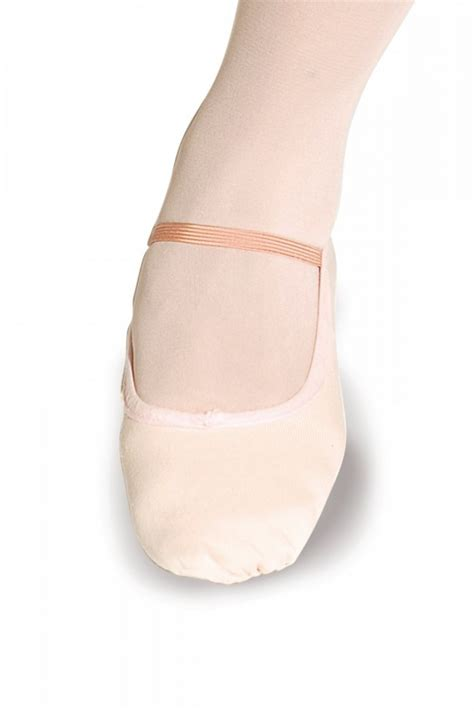 wide fit canvas ballet shoes from roch valley dancewear