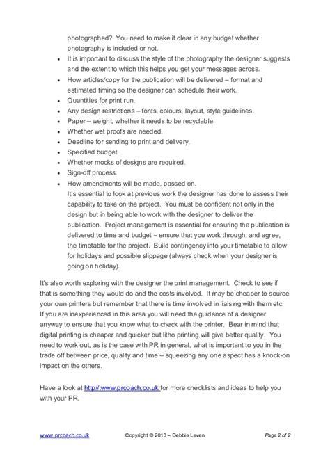 house design brief checklist how to write a design brief checklist