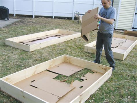 making raised beds how to make a raised bed in the garden the moment magazine