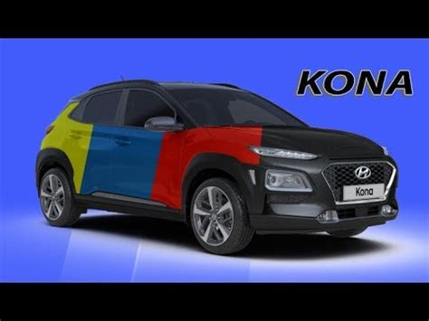 kona color 2018 hyundai kona all color options
