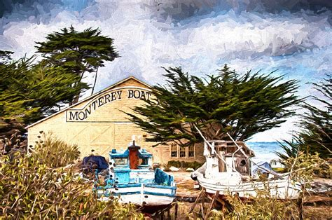 boat canvas antioch ca monterey boat works photograph by james menke