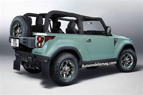 jeep range rover 2018 la prochaine g 233 n 233 ration du land rover defender pour 2018