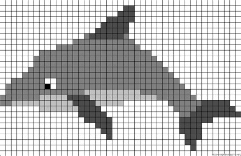 dolphin bead patterns dolphin perler bead pattern perler