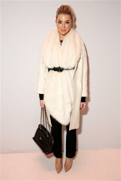 New York Fashion Week Erin Fetherston by Stassi Schroeder At Erin Fetherston The Best Front Row