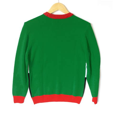 light up ugly christmas sweater the tree isnt the only thing getting lit reindeer and tree tacky sweater the sweater shop