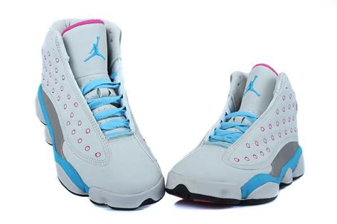 air jordan 13 women c air jordan 13 blue pink sneaker factory