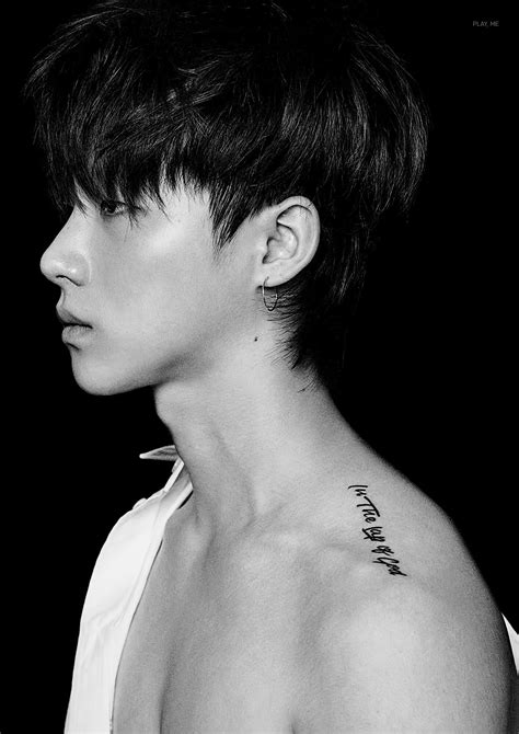 ikon tattoo ikon jinhwan quot in the of god quot ikon
