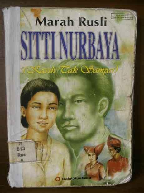 Sitti Nurbaya Oleh Mh Rusli ringkasan novel siti nurbaya awan sundiawan